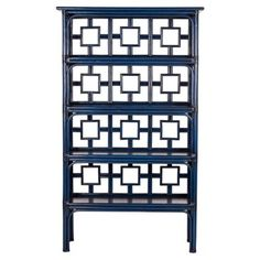 "Check out this item at One Kings Lane! Sobe 70.5"" Etagere, Indigo"
