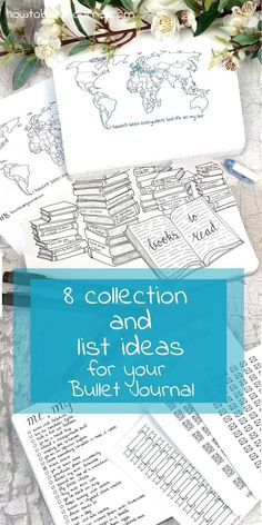 8 collection and ideas for your bullet journal