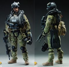 Navy SEALS DEVGRU (SEAL Team Six) HALO jumper