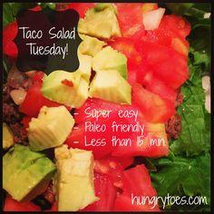 Paleo Taco Salad.