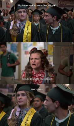 """I love how Paige 💕defended Sam-after a bunch of mean student wrote a lot of mean things in Sam's yearbook and said """"weirdo"""" etc. I wish more people who stand up for others-no matter if they're typical, neutro atypical (autistic), or whatever. I wish bullying would stop! Best Series, Tv Series, Casey Atypical, Brigette Lundy Paine, Beautiful Series, Netflix Series, Film Serie, Movie Characters, Best Tv"""