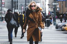New_York_Fashion_Week-Street_Style-Fall_Winter-2015-Militar_Coat- by collagevintageblog, via Flickr