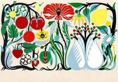 Petra Börner   Nordic Romance print pattern