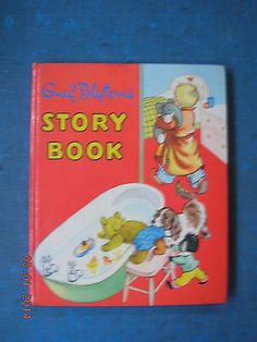 BOOK. ENID BLYTON'S STORY BOOK. (Purnell. 1950's)