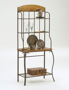 Hillsdale Lakeview Bakers Wood Rack Price: $249.00