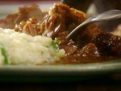 Get Claire Robinson's Sunday Pot Roast with Mushroom Gravy Recipe from Food Network