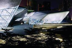 Guangzhou Opera House in Guangzhou, China. Photo: Iwan Baan