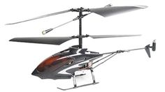 Skque Savino 58010 Mini 3 CH Infrared RC Helicopter w/Gyro - Black