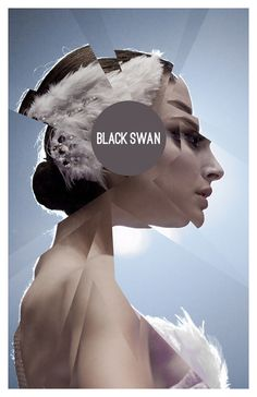 Black Swan poster- disturbing movie with great performance by Natalie Portman Black Swan Poster, Cool Posters, Film Posters, Photoshop, Alternative Movie Posters, Indie Movies, Film Serie, Graphic Design Illustration, Photo Manipulation
