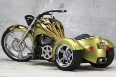Most trike motorcycle companies in this guide make conversion kits for GoldWing trikes and Harley trikes. A few automatic trikes too. Goldwing Trike, Vw Trike, Custom Trikes, Custom Choppers, 3 Wheel Motorcycle, Tricycle Motorcycle, Chopper Motorcycle, E Quad, Harley Davidson Trike