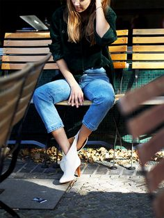 #closed #fair #cord #shirts #oversize #oversized #highwaist #denim #jeans #pedalpusher #retro #vintage #ootd #berlin #helloshopping #effortless #sophisticated #vogue #fashion #style #trends #fall #autumn #whowhatwear #vogue #instyle