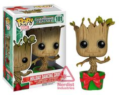 Exclusive: Funko Reveals Holiday Dancing Groot and Director Coulson and Lola Pop! Figures | Nerdist