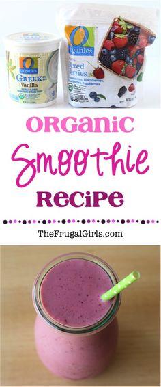 Organic Smoothie Recipe