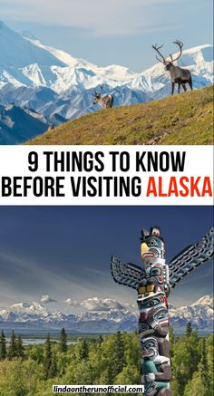 Planning a trip to Akaska? Here are 9 things you need to know before traveling to Alaska while you are in the planning stages| What you need to know before visiting Alaska #travel #usa #alaska #cruise