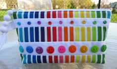 Buttons galore pouch by mamacjt, via Flickr