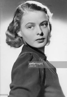 Ingrid Bergman from her early Swedish film days. lmr