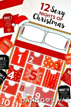 12 Sexy Nights of Christmas coupons to print out for your hubby!