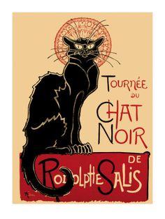 Tournee du Chat Noir, c.1896 Art Print - For guest room
