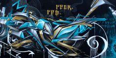 Berok Graffiti mural profesional en Barcelona: Los mejores graffitis en letras 3D