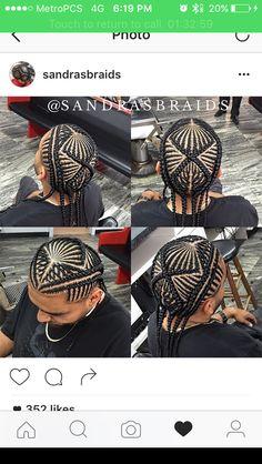 Amazing braided work!