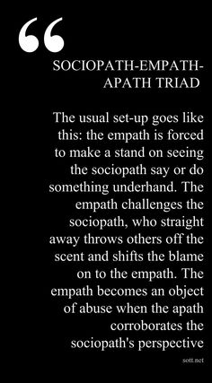 Empath dating sociopath