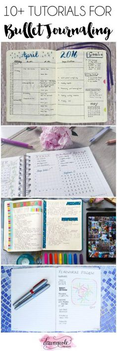 10+ Bullet Journal Tutorials