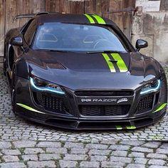 2017 Audi R8, #Audi #AudiR8 Audi Le Mans quattro, #SportsCar #AdobePhotoshop Nissan GT-R, Car tuning - Follow #extremegentleman for more pics like this!
