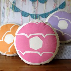 Iced+Ring+Biscuit+Printed+Cushion+by+nikkimcwilliams+on+Etsy
