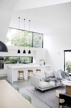 Simple And Effective Interior Home Design Solutions Home Design, Küchen Design, Home Interior Design, Interior Architecture, Design Ideas, Modern Home Interior, Minimalist Home Interior, Design Blogs, Design Websites