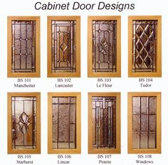 leaded glass cabinet doors - Google Search