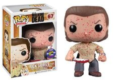Rick Grimes - Walking Dead - Comic Con Exclusive - Funko Pop! Vinyl Figure