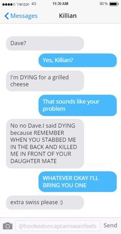 Image result for ouat fake texts