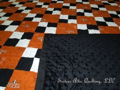 Texas Longhorn quilt made by Sisters Attic Quilting, LLC.