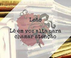PoRtUgUêS nA TeLa: H.o.r.ó.s.c.o.p.o L.i.t.e.r.á.r.i.o: #Leão