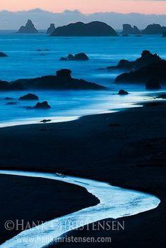 Harris State Beach, Oregon