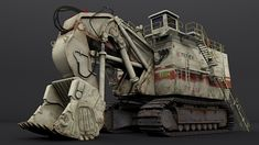 ArtStation - Ean Vasquez | O&K RH400 Excavator, Media Arts & Animation