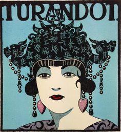 "Serie: ""Diosas de la ópera: Turandot"" | Grabado de Fernando Bellver | Flecha"
