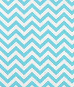 Premier Prints Zig Zag Girly Blue Twill Fabric. This chevron fabric is cute for nursery throw pillows, crib skirt, framed art, chairs and ottomans.