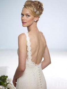 Birnbaum Bullock lace wedding dress