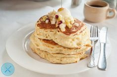 b & b flapjacks - sacramento breakfast menu item