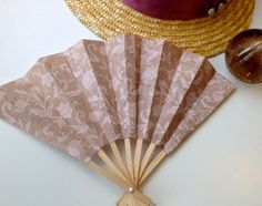 #DIY Paper Hand Fan