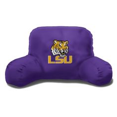 LSU College 20x12 Bed Rest Pillow