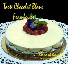 TARTE SABLEE CHOCOLAT BLANC FRAMBOISES