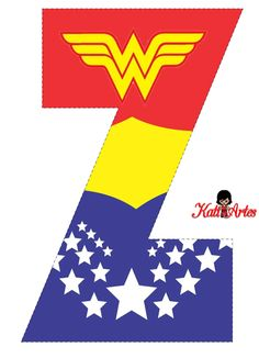 Wonder Woman Free Alphabet. Alfabeto Gratis de la Mujer Maravilla. Wonder Woman Cake, Wonder Woman Birthday, Wonder Woman Party, Superhero Alphabet, Superhero Party, Anniversaire Wonder Woman, Wonder Woman Quotes, 10th Birthday Parties, Alphabet Design