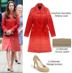 What kate wore today in Scotland