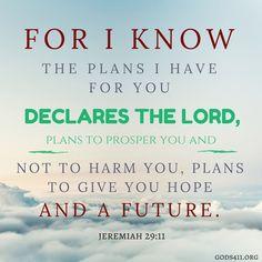Jeremiah 29:11 | Bible Verses