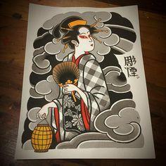 Ideia de fechamento, meio braço disponível para tatuar!!! @japanesetattooart #japonesetattoo #彫煙 #reclaimthedots ... @purart_tattoo ☎️ 14-996400155