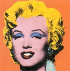 Andy Warhol_Orange Marilyn