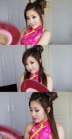 Chinese Girl Look - BubzBeauty