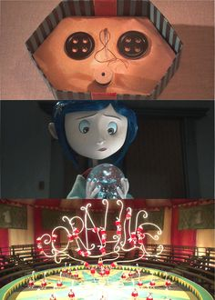 """novaktiels: """" get to know me meme; [1/5] favorite movies - coraline (2009) """"She's go this whole world where everything is better. The food! The garden! The neighbors…But it's all a trap."""" """""""